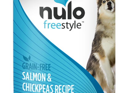 Nulo Freestyle Canned Dog Food - Salmon & Chickpeas, case of 12