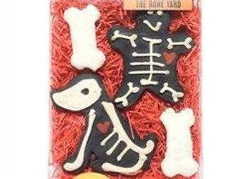 """The Bone Yard"" Halloween Cookies for Dogs"