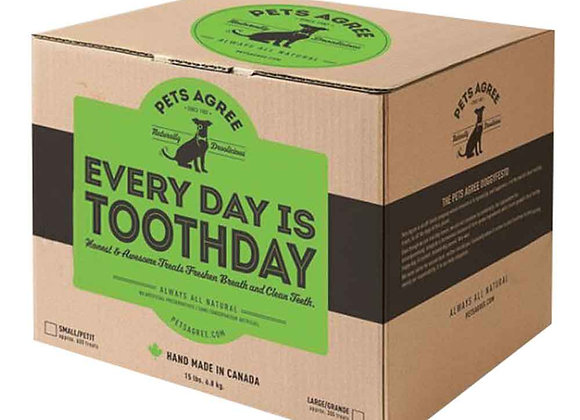 Every Day is Toothday! Dental Treats for Dogs