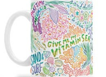 Sea-Themed Gift Mug