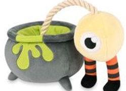 Witches' Cauldron Halloween Doggie Chew Toy