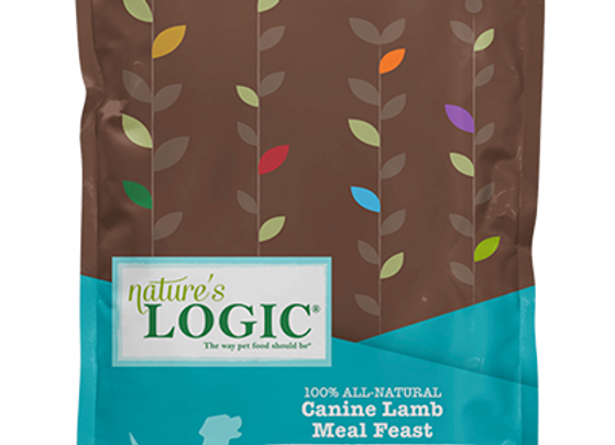 Nature's Logic Lamb Meal Feast Dry Food for Dogs - 26.4 lbs.