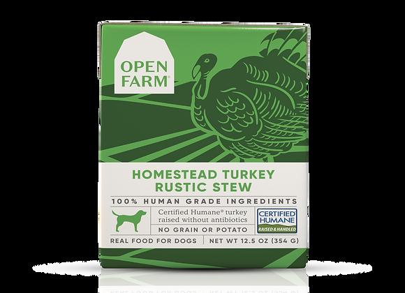 Open Farm Homestead Turkey Rustic Stew for Dogs