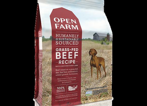 Open Farm Grass-Fed Beef Dry Dog Food