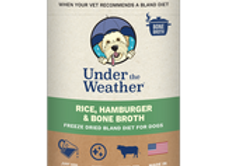 Under the Weather Gentle Dog Food for Upset Stomach - Hamburger and Bone Broth