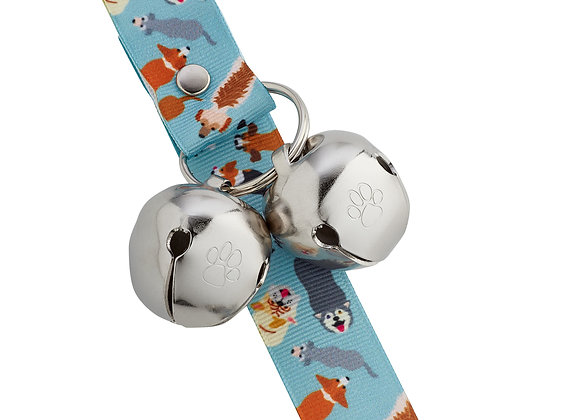 "PoochieBells Doggie Doorbell Training Solution - ""Pooch Parade"""