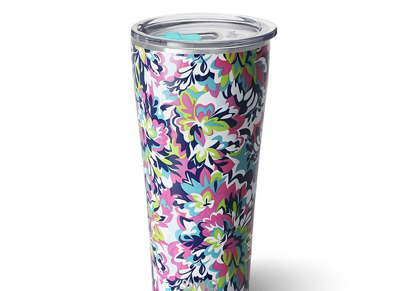 """Frilly Lilly"" Insulated Hot/Cold Beverage Cup 32 oz"