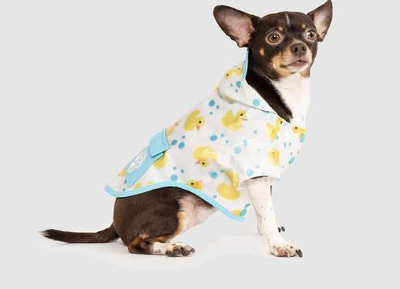 """""""Torrential Tracker"""" Rubber Duckie Raincoat for Dogs"""