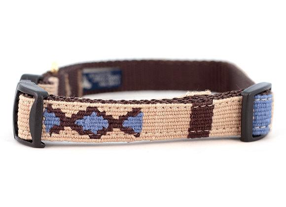 """""""Block Island Sand"""" Durable Dog Collar"""
