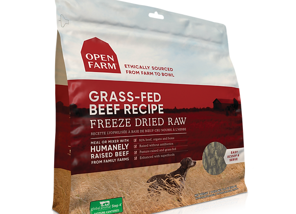 Open Farm Freeze-Dried Raw Beef Dog Food