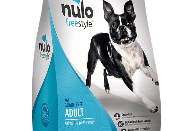Nulo Freestyle Grain-Free Dog Food - Salmon and Peas Recipe