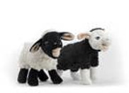 Barnyard Baller Sheep Tough Dog Toy