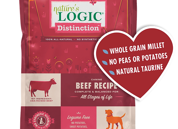 Nature's Logic Distinction Beef Dry Dog Food