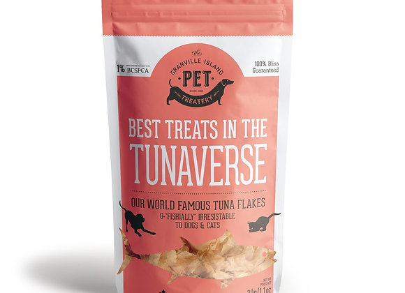 """The Best Treats in the Tunaverse"" Fish Treats for Pets (small)"