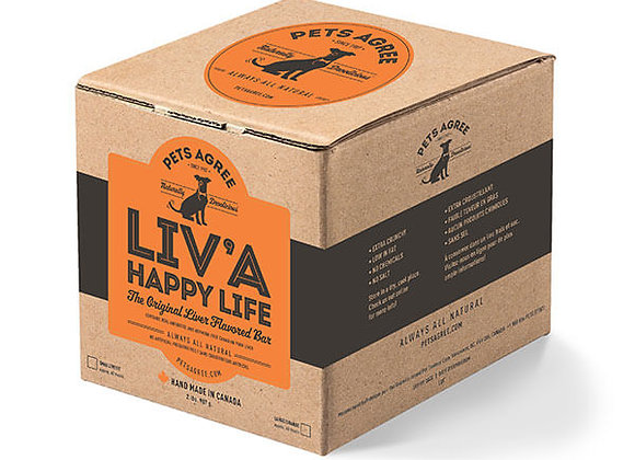 """""""Liv'A Happy Life"""" Liver Treats for Dogs"""