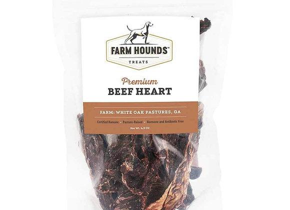 Organic Beef Heart Dog Treats