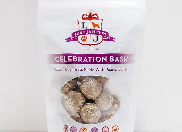 """Celebration Bash"" Organic Special Occasion Dog Treats"