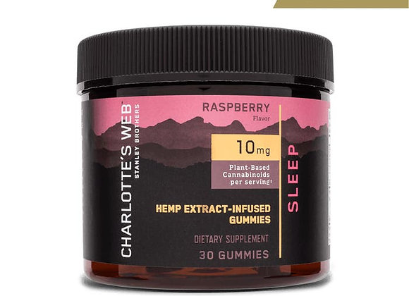 People Charlotte's Web Sleep Gummies with Hemp Extract