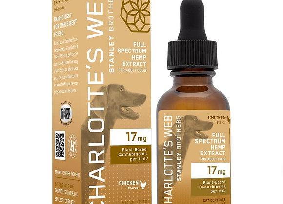 Charlotte's Web 17 mg Hemp Oil for Dogs