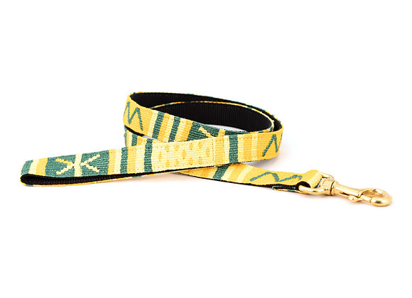"""Handmade Guatemalan """"Sun Valley Day"""" Dog Leash"""