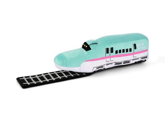 Chew-Chew Train Plush Dog Toy with New Sounds