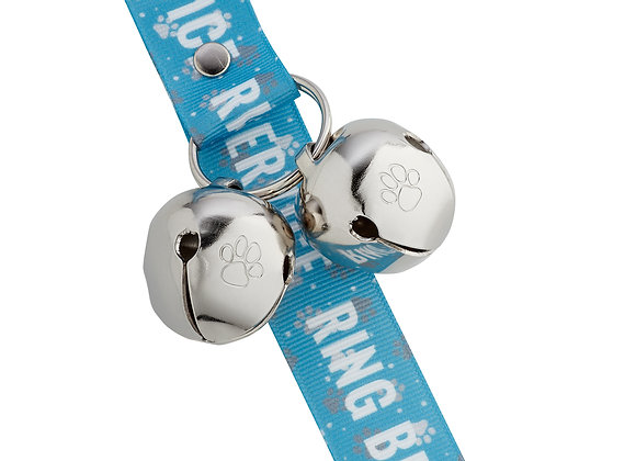 """PoochieBells Doggie Doorbell Training Solution - """"Ring Bell for Service"""""""