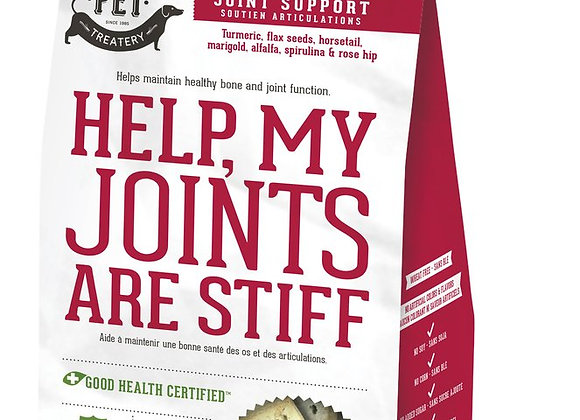 """Help, My Joints Are Stiff"" Joint Supplement Treats for Dogs"