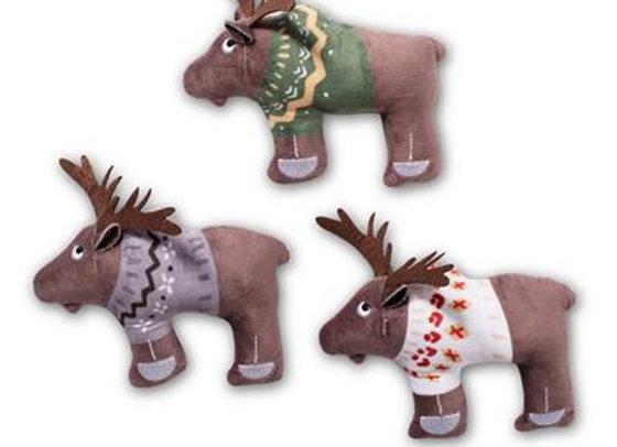 Sweater Moose Mini-Trio of Dog Toys