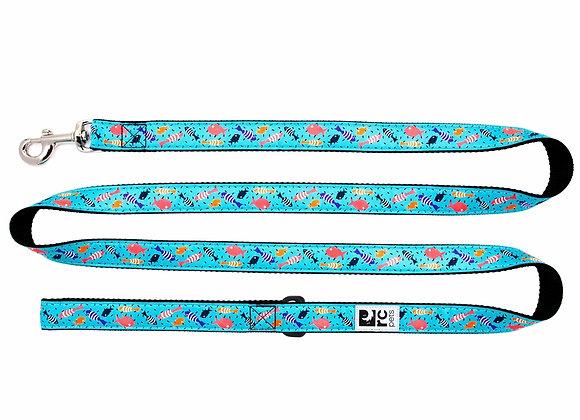 """Shoal"" Coral Reef Design 6' Dog Leash"