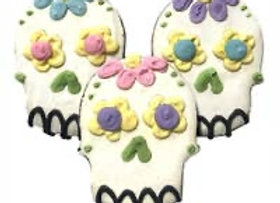 Sugar Skull Puppy Party Cookies