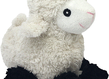 Look Who's Talking! Plush Sheep Baaing Toy for Dogs