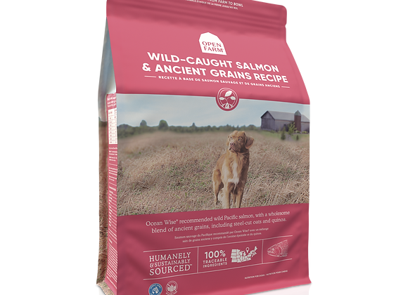 Open Farm Wild-Caught Salmon and Ancient Grains Dry Dog Food
