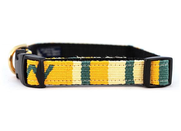 """Handmade Guatemalan """"Sun Valley Day"""" Dog Collar"""