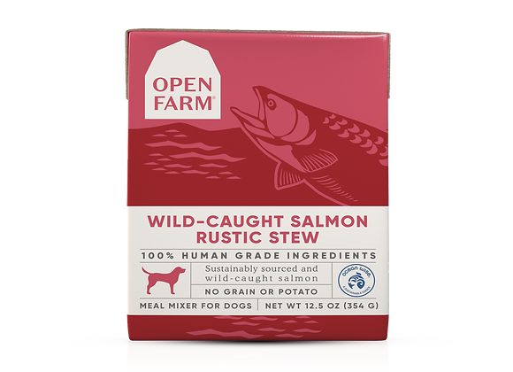 Open Farm Wild-Caught Salmon Rustic Stew for Dogs