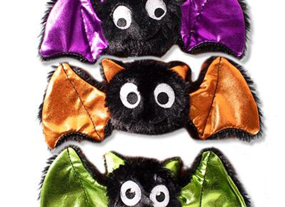 Crazy Bats Trio of Halloween Toys for Small Dogs