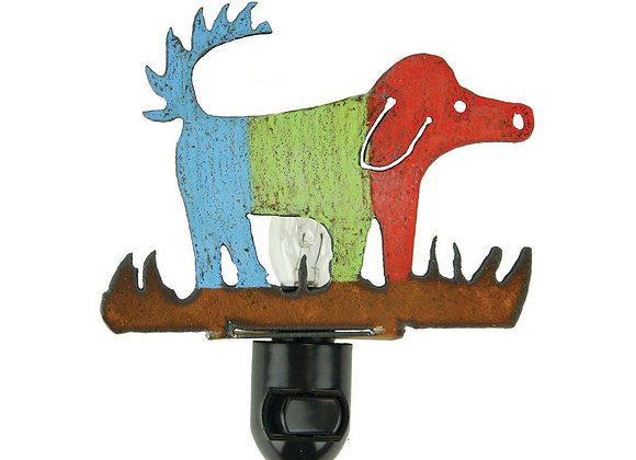 Doggie Art Night Light