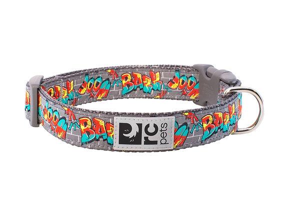 """Easy Clip Dog Collar - """"Graffiti"""" Design"""