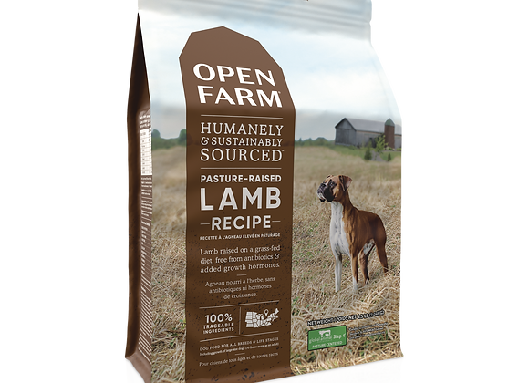 Open Farm Pasture-Raised Lamb and Ancient Grains Dry Dog Food