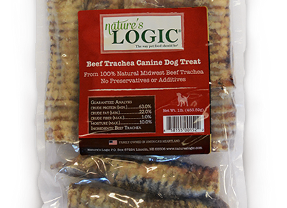 Nature's Logic Beef Trachea (1 Lb Bag)