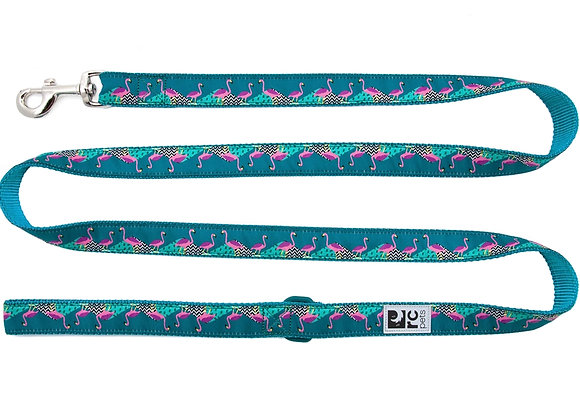 Flamingo Pattern 6' Dog Leash