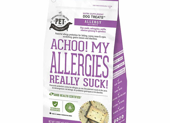 Achoo! My Allergies Really Suck! Supplement Treats for Dogs