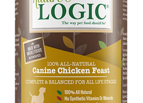 Nature's Logic Chicken Feast Canned Dog Food