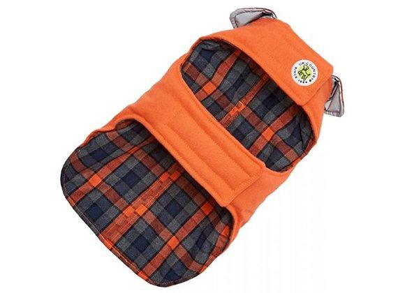 Orange Field Coat for Dogs
