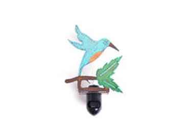 Beautiful Hummingbird Night Light