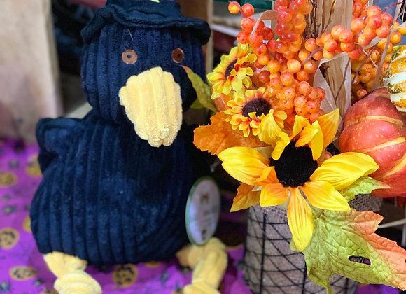 Harvest Crow Doggie Pull / Chew Toy