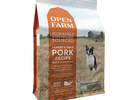 Open Farm Farmer's Table Pork Dry Dog Food