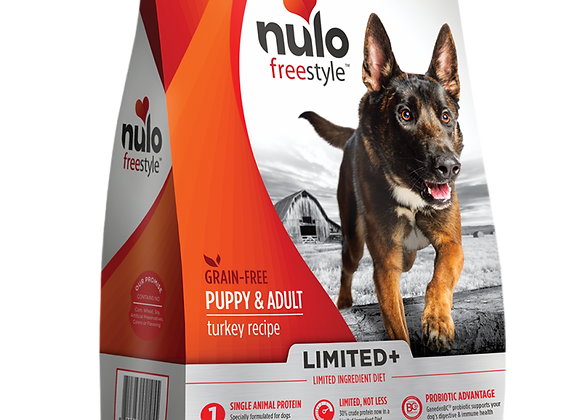 Nulo Freestyle Grain-Free Dog and Puppy Food - Turkey Recipe