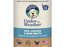 Under the Weather Gentle Dog Food for Upset Stomach - Chicken and Bone