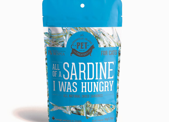 """All of a Sardine I Was Hungry"" Dog & Cat Treats"