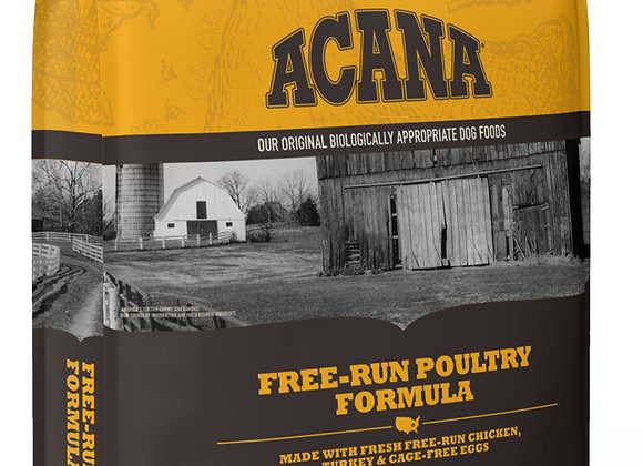 Acana Free-Run Poultry Nature-Based Dry Dog Food